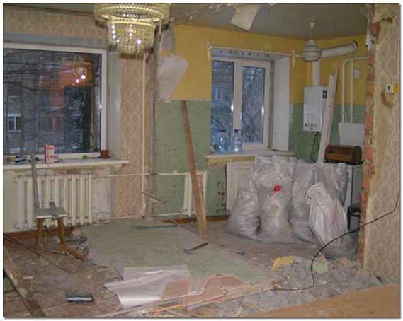Перепланировка стен квартиры своими силами
