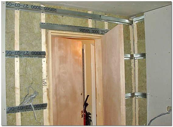 Звукоизоляция стен квартиры минеральной ватой и ГКЛ