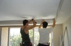 Натяжной потолок: основные этапы монтажа