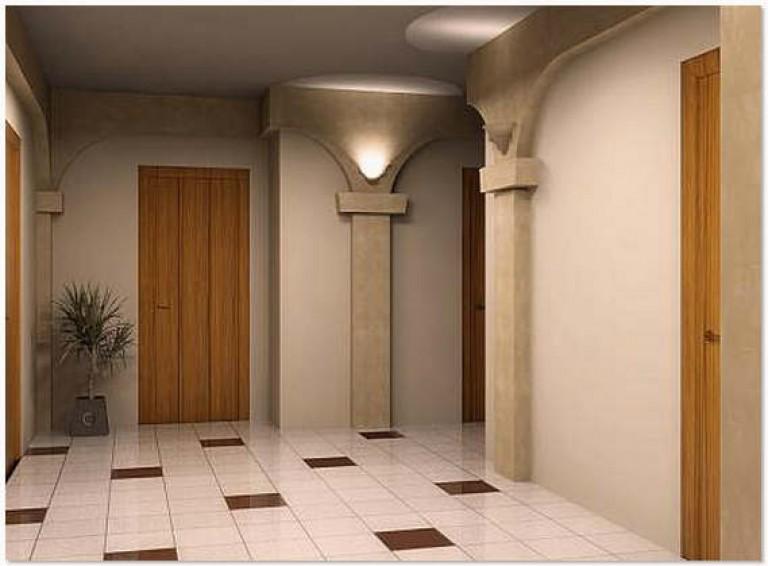 Интерьер коридора плитка в коридор