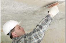 Выравнивание потолка своими руками штукатуркой и гипсокартоном