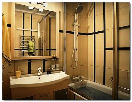 Дизайн ванных комнат фото стандартных