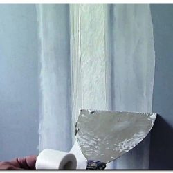 Шпаклевка стыков гипсокартонных листов