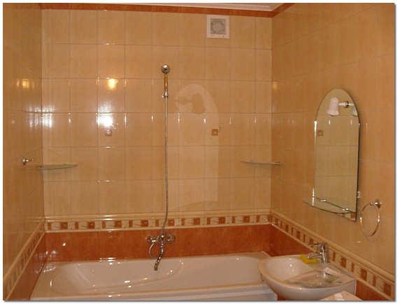 Облицовка кафелем ванной комнаты