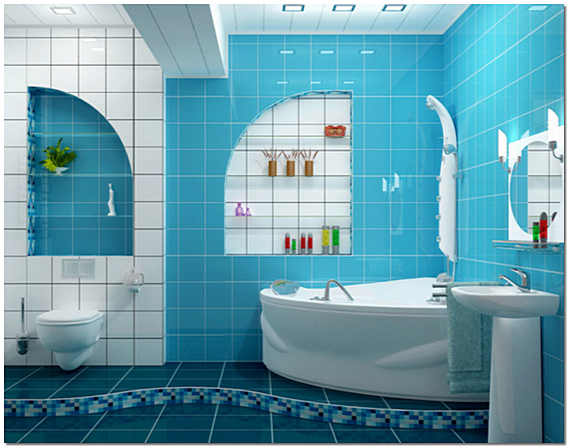 Облицовка ванной комнаты плиткой фото