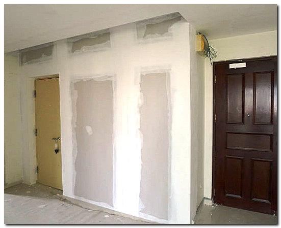 Обшивка стен гипсокартоном фото