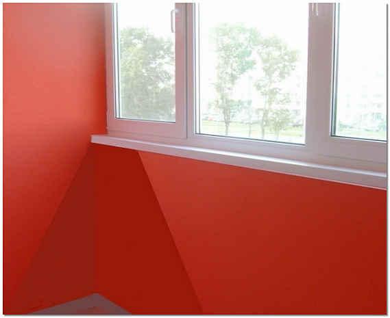 Окрашивание балкона фото