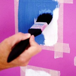 Трафарет для покраски стен фото