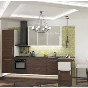 Отделка кухни стеновыми и пластиковыми панелями, облицовка плиткой
