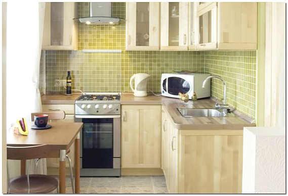 Ремонт на маленькой кухне в хрущевке