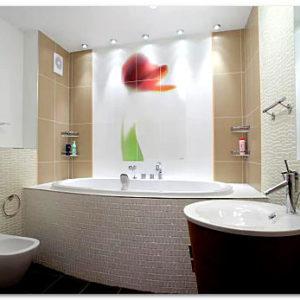 Ремонт стен в ванной комнате своими руками: популярные виды отделки