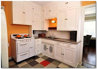 Ремонт на кухне в хрущевке фото
