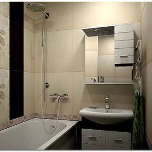 Варианты отделки стен и потолка ванных комнат: популярные отделочные материалы