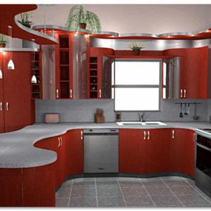 Варианты ремонта и отделки кухни