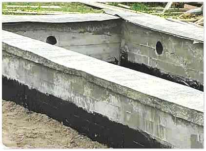 Буронабивной фундамент с ростверком