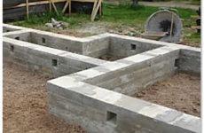 Фундамент своими руками: строим с нуля!