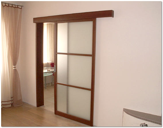 Раздвижная межкомнатная дверь в хрущевке фото