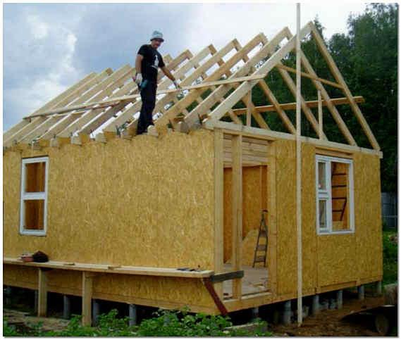 Строительство бани на дачи своими руками