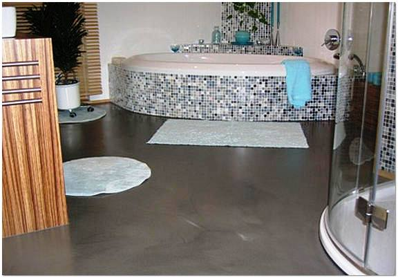 Наливной полимерный пол для ванной мастика для укладки кафеля