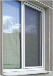 Москитная сетка на пластиковые окна фото