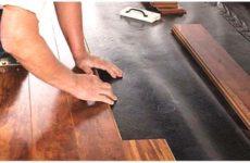 Как класть ламинат на деревянный пол: технология и правила укладки