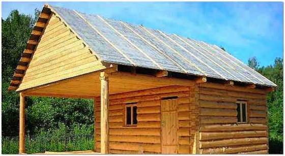 Крыша построить своими руками