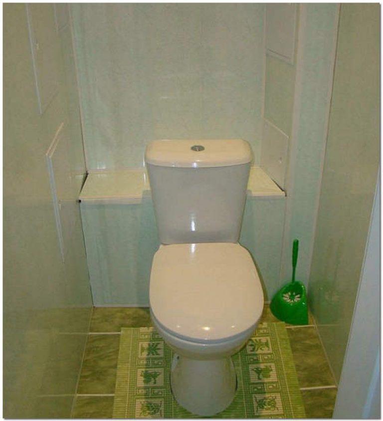 Фото дизайн туалета панелями пвх