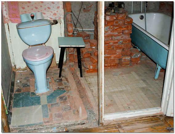 Ремонт ванной комнаты с перепланировкой