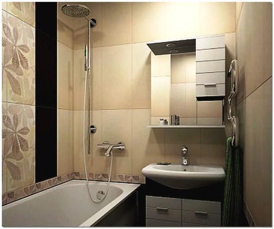 Ванная комната 2 метра дизайн
