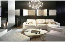 Оформление гостиной комнаты в частном доме