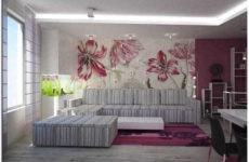 Какие обои выбрать для гостиной: оформление зала обоями