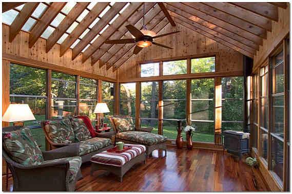 Дизайн веранды деревянного дома фото
