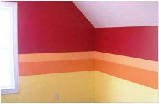 Как правильно покрасить стены из гипсокартона