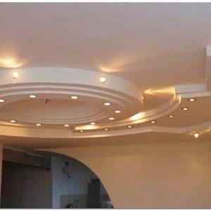 Монтаж подвесного потолка из гипсокартона своими руками для начинающих