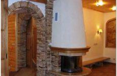 Отделка дверных проемов: отделка арок в квартире декоративным камнем