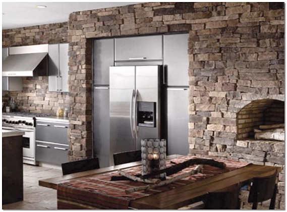 Дизайн кухни с искусственным камнем фото