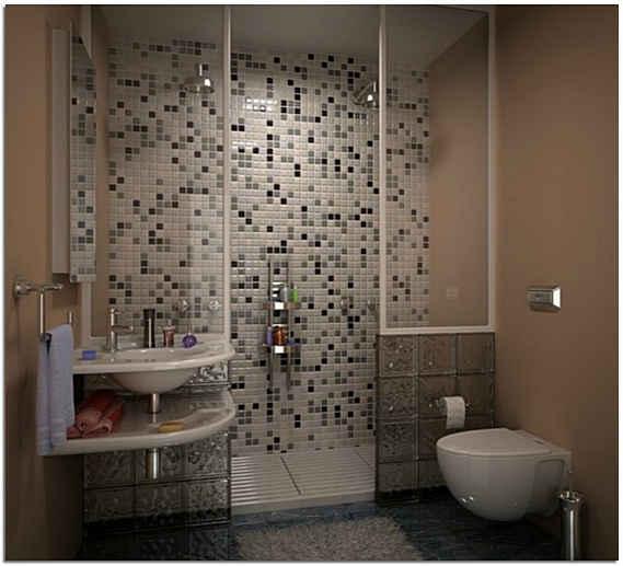 Интерьер для ванной комнаты маленького размера фото