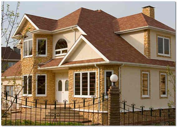 Отделка фасада частного дома сайдингом своими руками фото 538