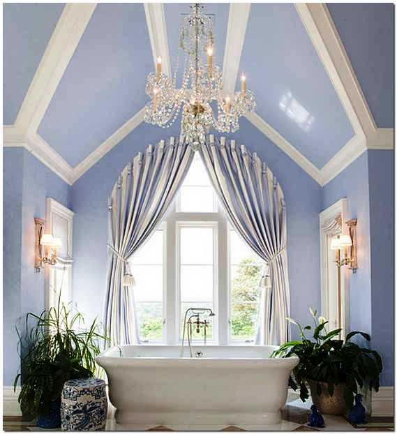 Французский будуарный стиль в интерьере ванной