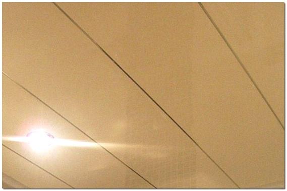 Пластиковый подвесной потолок фото