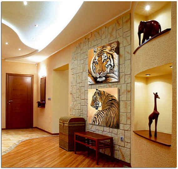 Декор прихожей в африканском стиле фото