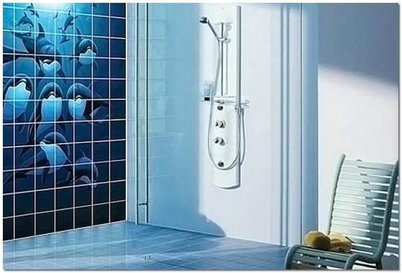 Фотоплитка в ванной комнате