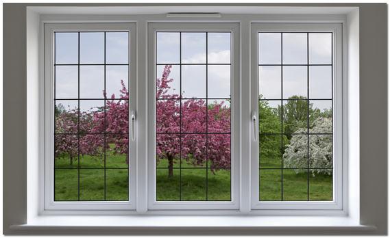окна фото пятиугольные