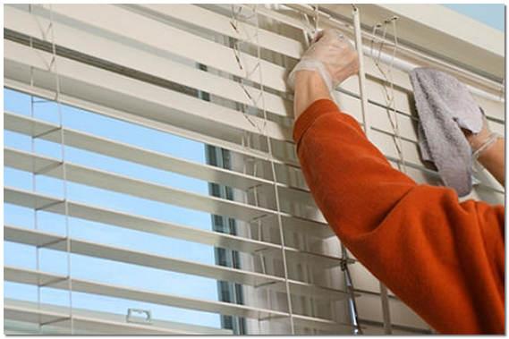 Как почистить жалюзи в домашних условиях: быстро и эффективн.