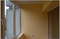 Внутренняя отделка балкона и лоджии гипсокартоном
