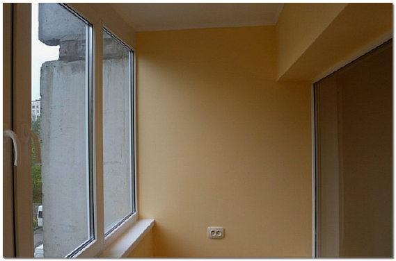Гипсокартон - как основа для внутренней отделки балкона.