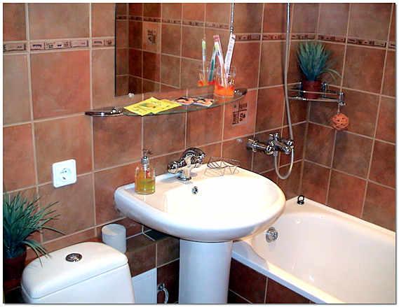 Ремонт в хрущевке в ванной комнате своими руками фото