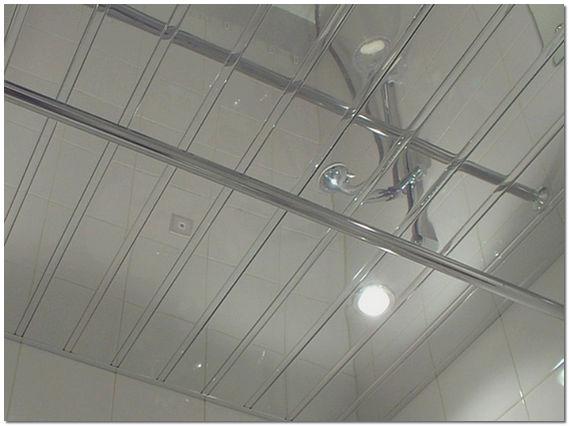 Реечный потолок для ванной: красиво, доступно, вечно