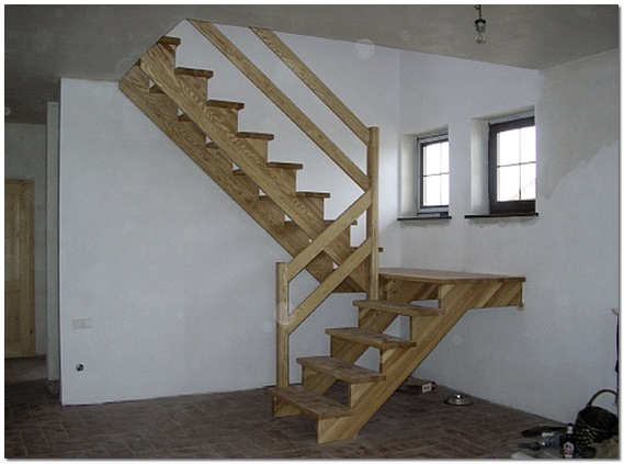лестница фото своими руками