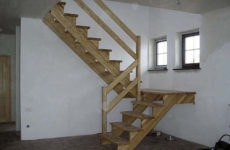Как сделать деревянную лестницу своими руками на второй этаж